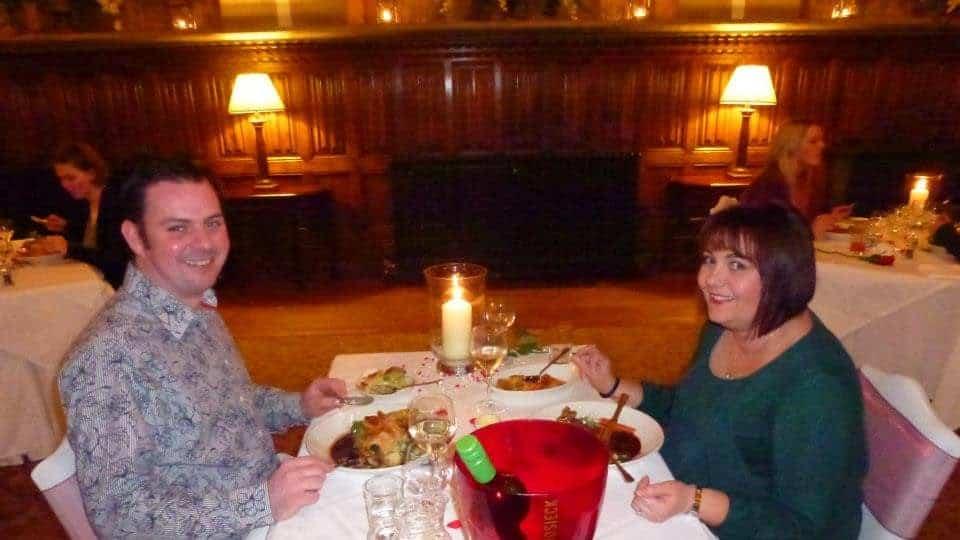 St Audries Park Valentine's Dinner