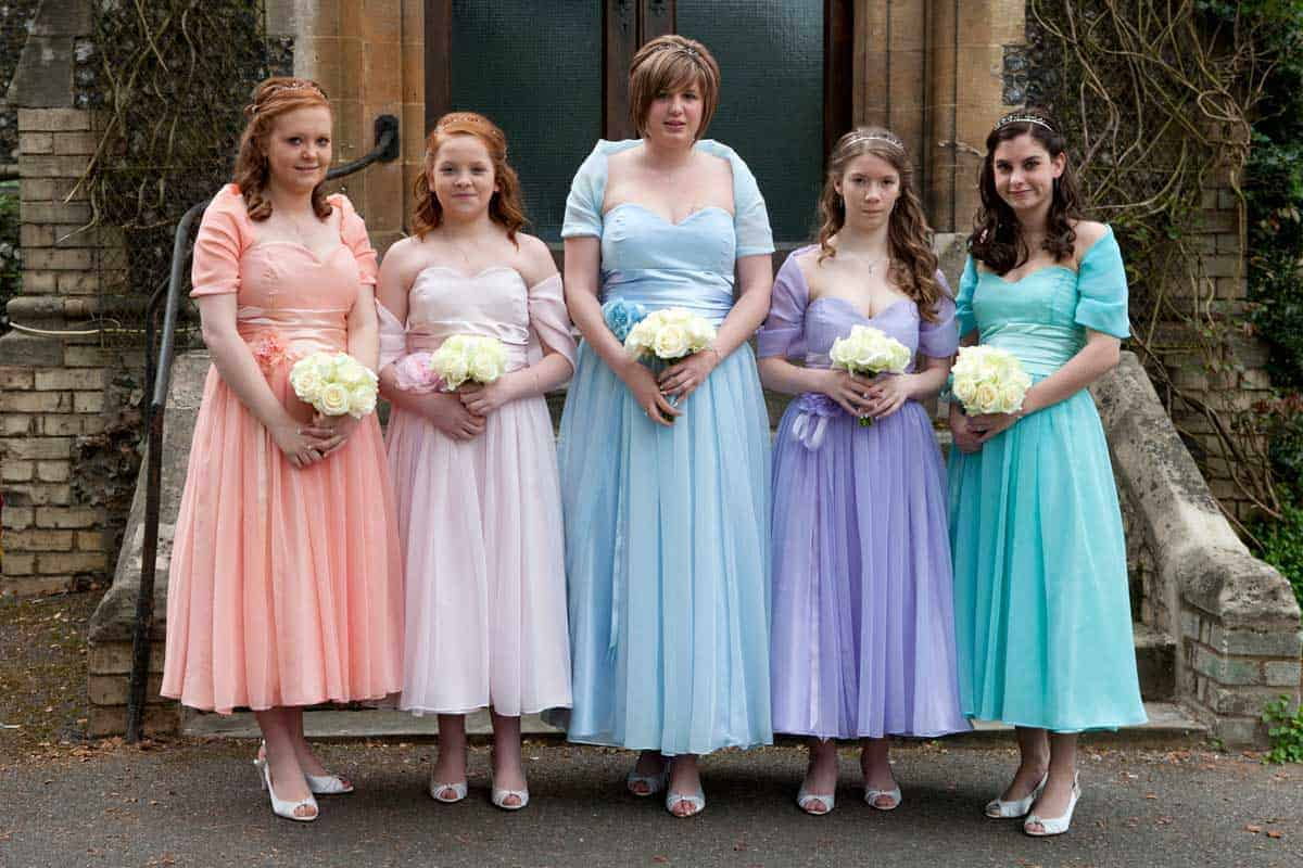 Bridesmaid dress trends since 1920 frame ombrellifo Image collections