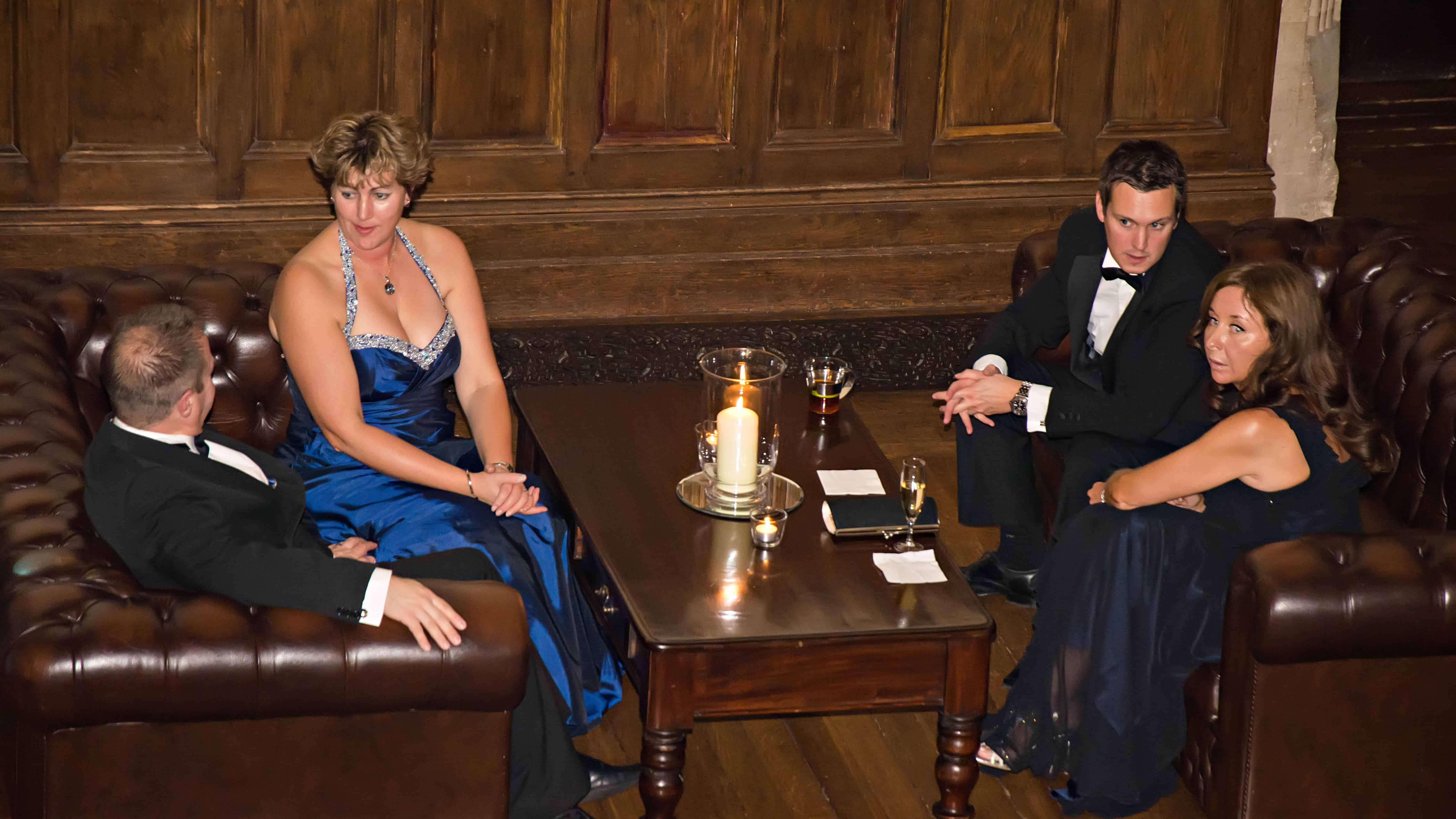 St Audries Park Candlei Ball - guests