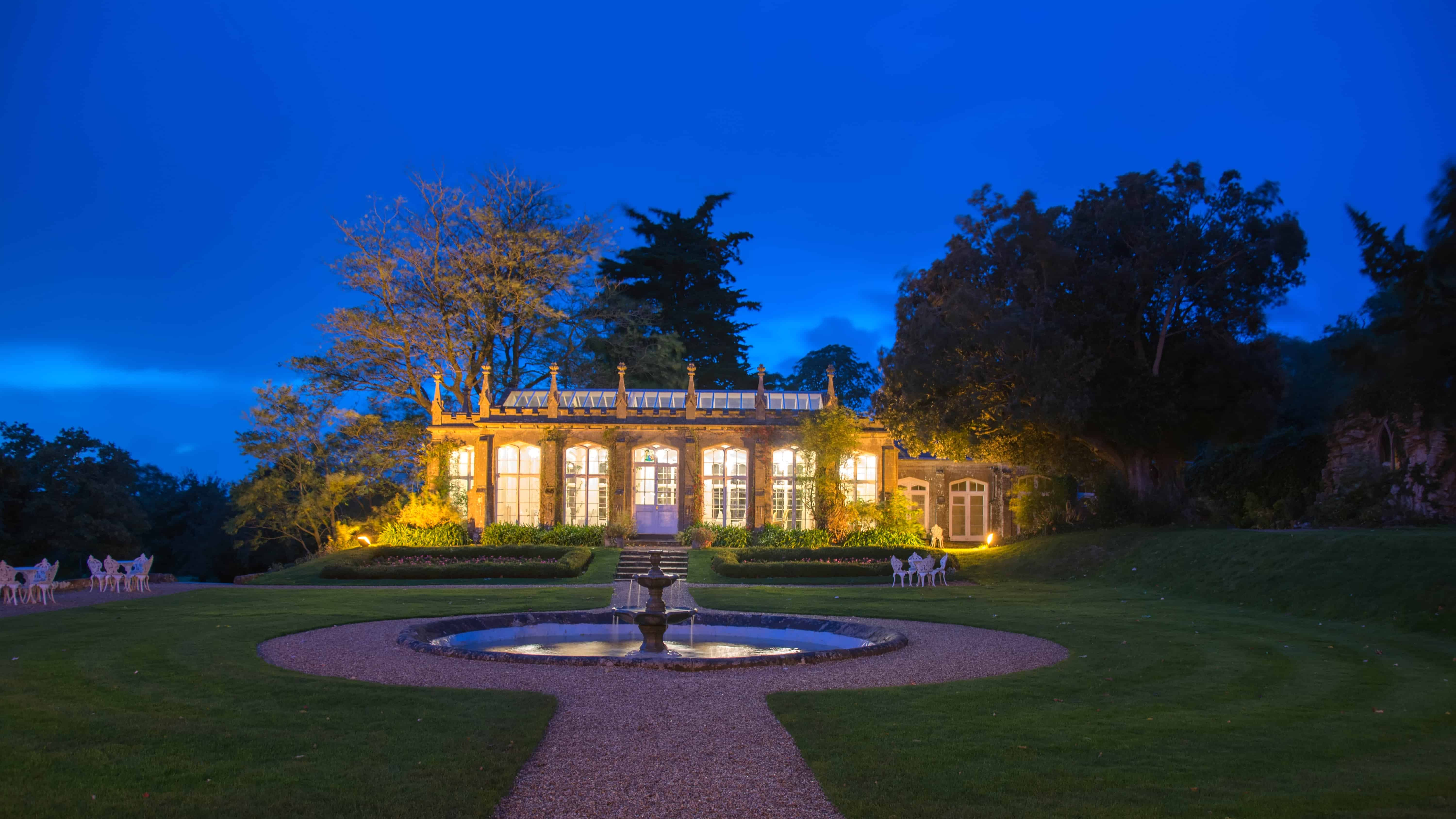 St Audries Park Candlelit Ball - The Orangery