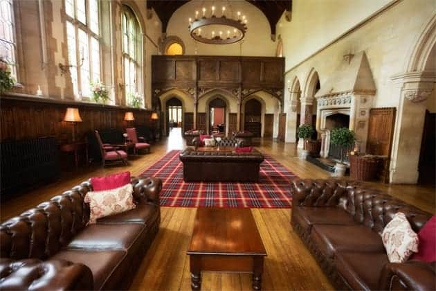 The Great Hall at St Audries Park